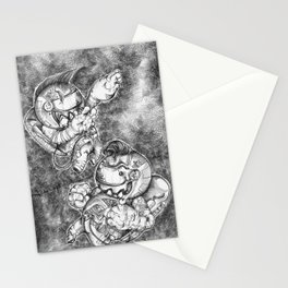 Petite Astronauts  Stationery Cards