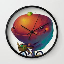 Bike Monster 2 Wall Clock