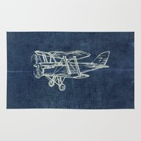 plane Area & Throw Rugs featuring Plane by Mr & Mrs Quirynen