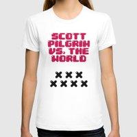 scott pilgrim T-shirts featuring Scott Pilgrim vs. The World by Martin Lucas