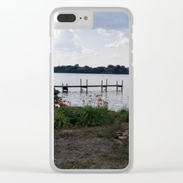 Maumee River Clear iPhone Case