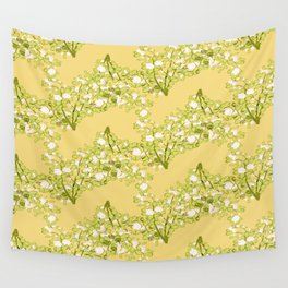 Roses pattern 1d Wall Tapestry