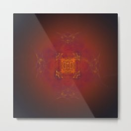 energetic work Metal Print