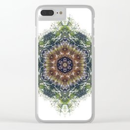 Jungle Mandala, Amazon, Peru Clear iPhone Case