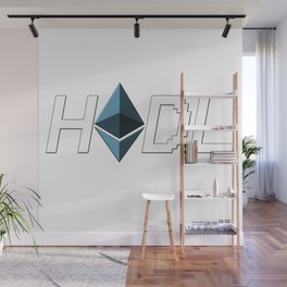 HODL Ethereum Wall Mural