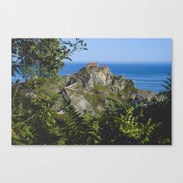 Gaztelugatxe Canvas Print
