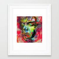 archan nair Framed Art Prints featuring Rainscape Rhythm by Archan Nair