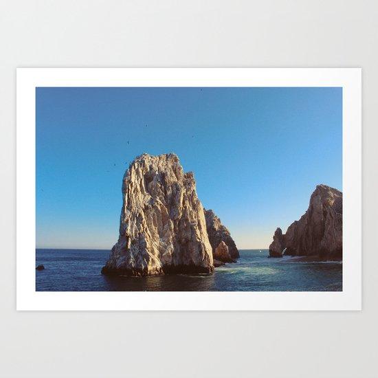 Los Cabos. Winter 2010. Art Print