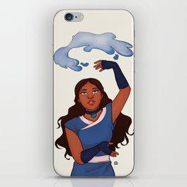Waterbender iPhone Skin