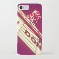 theatre iPhone & iPod Cases featuring Theatre by Theresa O'Neill