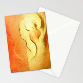 Angel of joy and creativity Stationery Cards