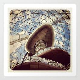 The Dome Belfast - Instagram Art Print