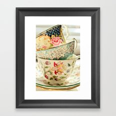 China Cups Framed Art Print