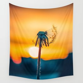 Sun and Plant Wall Tapestry