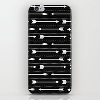 arrows iPhone & iPod Skins featuring Arrows by Hipster
