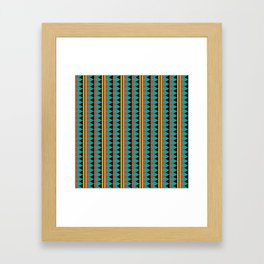 Pizzazz: 3 of 9 Framed Art Print