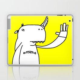 Uni monster bathed in glorious light. Laptop & iPad Skin