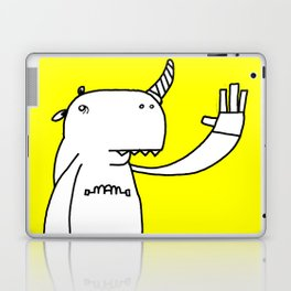 Uni monster bathed in glorious light. Laptop & iPad Skin