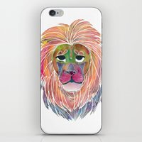 courage iPhone & iPod Skins featuring Courage by Jhoanna Monte