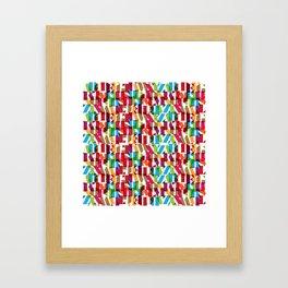 Letterform Fitting Framed Art Print