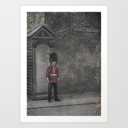 Queen's Guard Art Print