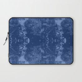 Born on the Bayou Blue Laptop Sleeve