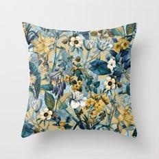 Summer Botanical Garden III Throw Pillow