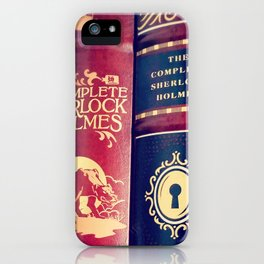 Library of Sherlock Holmes iPhone Case