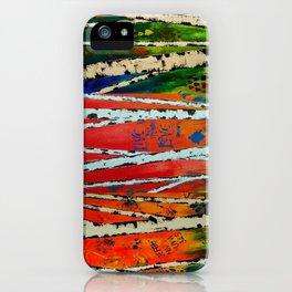 Birch Tree Stitch iPhone Case