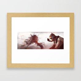 Borderlands - Krieg Framed Art Print