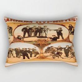 Vintage poster - Barnum the Hynotist Rectangular Pillow