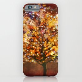 Starry Tree iPhone Case