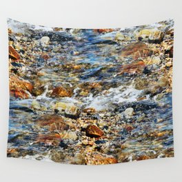 Peaceful Soothing Waters Wall Tapestry