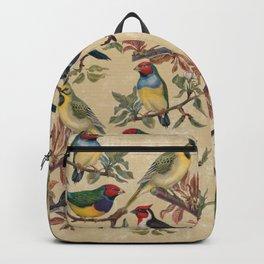 Vintage Birds Backpack