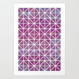 Broken Geometry 2 Art Print