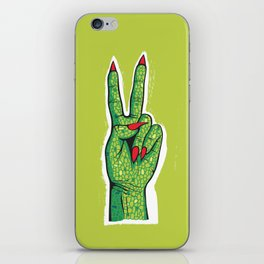 Hands Up iPhone Skin