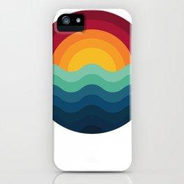 Surf Sunset Wave Ocean nature Surfer Surfing Surfboard Gift iPhone Case