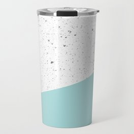 Blue Speckle Travel Mug