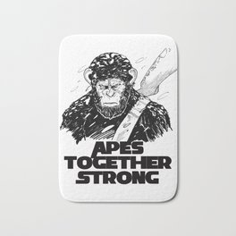 Caesar: Apes Together Strong Bath Mat