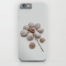 Playful snails, morning people iPhone 6s Slim Case