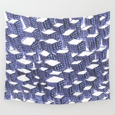 city lifes Wall Tapestry