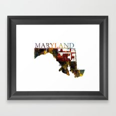 Maryland Framed Art Print