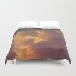 After the Storm (Pink Version) Duvet Cover