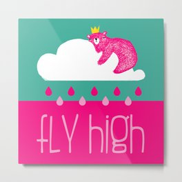 ☆ Fly high ☆ Metal Print