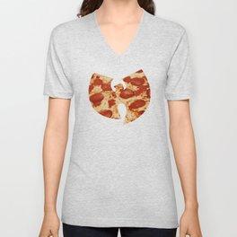 Wu Tang Pizza Unisex V-Neck