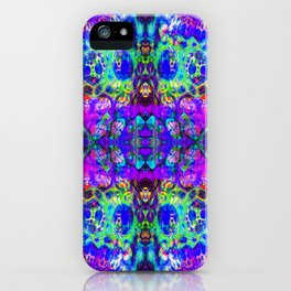 blacklight madness iPhone Case