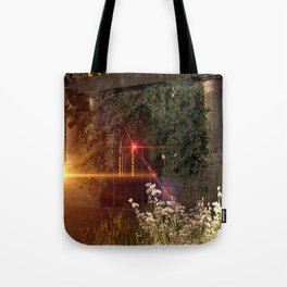 Old crypt Tote Bag