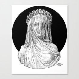 Vestigial Veiled Lady Canvas Print