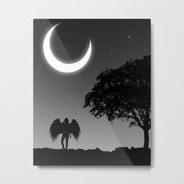 Lonely nights. Metal Print