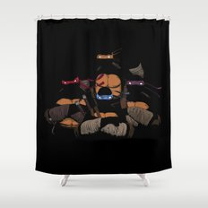 T. U. R. T. L. E. S. Shower Curtain
